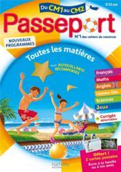 Passeport ; du CM1 au CM2 - Couverture - Format classique