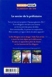 La cabane magique T.6 ; le sorcier de la préhistoire - 4ème de couverture - Format classique