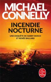 Incendie nocturne - Couverture - Format classique