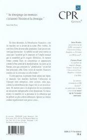 Marches Et La Croissance - 4ème de couverture - Format classique