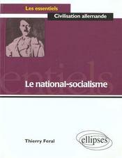 Le National-Socialisme - Intérieur - Format classique