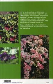 Plantes grimpantes pas à pas - 4ème de couverture - Format classique