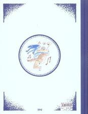 Pascin - La Java Bleue - 4ème de couverture - Format classique