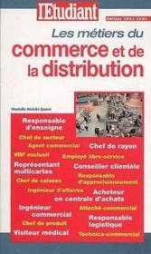 Les métiers de la vente et de la distribution - Couverture - Format classique