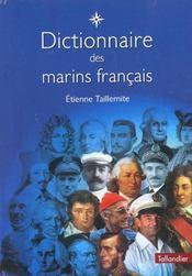 Dictionnaire des marins français - Intérieur - Format classique