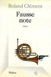 Fausse note - Couverture - Format classique