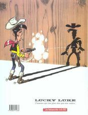 Lucky Luke ; Dalton city - 4ème de couverture - Format classique