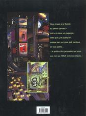 Rip T.1 ; Jumeaux Parfaits - 4ème de couverture - Format classique