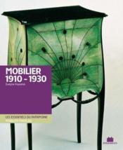 Mobilier 1910-1930 - Couverture - Format classique
