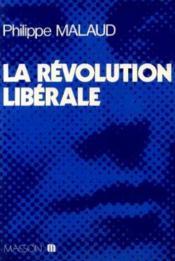 La Révolution libérale - Couverture - Format classique