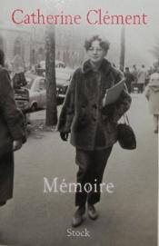 Memoire. - Couverture - Format classique
