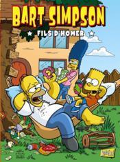 Bart Simpson t.3 ; fils d'Homer - Couverture - Format classique