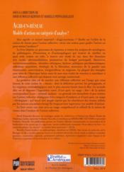 Agir en réseau ; modèle d'action ou catégorie d'analyse? - 4ème de couverture - Format classique