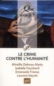 Le crime contre l'humanité (2e édition) - Couverture - Format classique