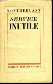 Service Inutile. - Couverture - Format classique