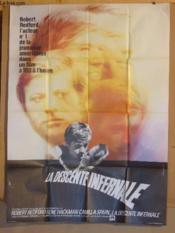 Affiche De Cinema - La Descente Infernale - Couverture - Format classique