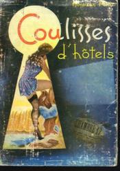 Coulisses D'Hotel - Couverture - Format classique