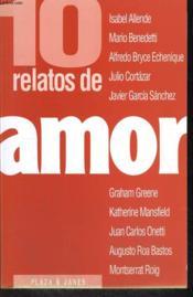 10 Relatos De Amor - Couverture - Format classique