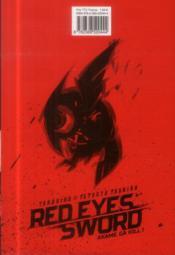 Red eyes sword - Akame ga Kill T.1 - 4ème de couverture - Format classique