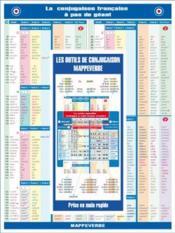 La conjugaison francaise a pas de geant - version tout en un - Couverture - Format classique