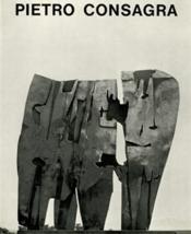 Pietro Consagra - Couverture - Format classique