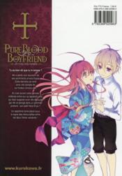 Pure blood boyfriend t.7 - 4ème de couverture - Format classique