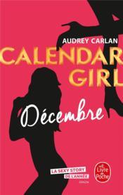 Calendar girl T.12 ; décembre - Couverture - Format classique
