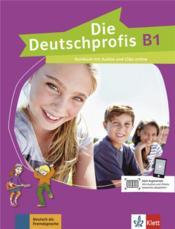 Die deutschprofis ; allemand ; B1 ; livre de l'élève - Couverture - Format classique