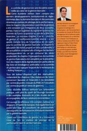 Contrôle de gestion bancaire (8e édition) - 4ème de couverture - Format classique