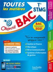 Objectif bac ; toutes les matières ; terminale STMG - Couverture - Format classique