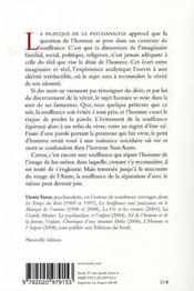 Le Poids Du Reel, La Souffrance - 4ème de couverture - Format classique