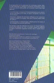 Sociologie penale - systeme et experience - 4ème de couverture - Format classique