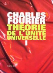 Theorie de l'unite universelle, t.1 - Couverture - Format classique