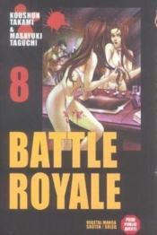Battle royale t.8 - Couverture - Format classique