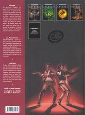 Arcanes t.4 ; le cercle de Patmos - 4ème de couverture - Format classique