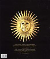 L'or, mythes et objets - 4ème de couverture - Format classique