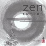 Zen questions - Couverture - Format classique