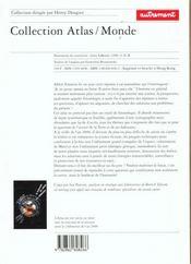 Atlas Du Xxi Siecle ; Quelle Societe Quelle Planete Demain Pour Nous Et Nos Enfants - 4ème de couverture - Format classique