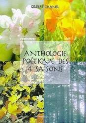 Anthologie Poetique Des 4 Saisons - Couverture - Format classique