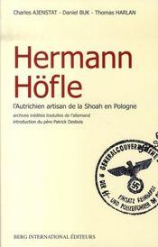 Hermann höfle ; l'autrichien artisan de la shoah en pologne - Intérieur - Format classique