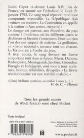 Révolution française t.2 ; aux armes, citoyens ! - 4ème de couverture - Format classique