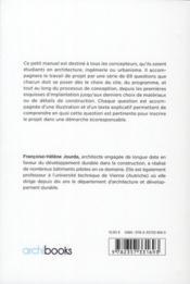 Petit manuel de la conception durable (2e édition) - 4ème de couverture - Format classique