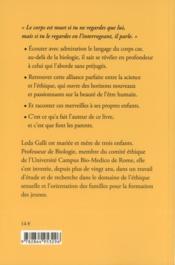 Du Corps A La Personne - 4ème de couverture - Format classique