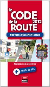 Code de la route (édition 2012) - Couverture - Format classique