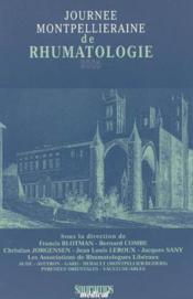 Journee Montpellieraine De Rhumatologie 2005 - Couverture - Format classique