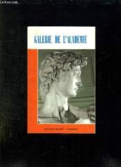 Galerie De L Academie. - Couverture - Format classique
