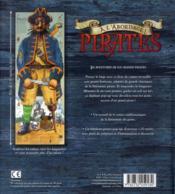 À l'abordage ! pirates ; les aventures de six grands pirates - 4ème de couverture - Format classique
