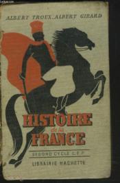 Histoire De La France Des Origines A 1919. Second Cycle Certificat D'Etudes.29.8 - Couverture - Format classique