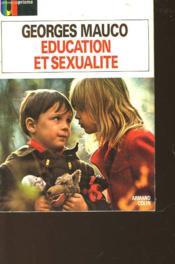Education Et Sexualite - Couverture - Format classique