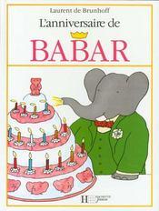 L' anniversaire de babar - Intérieur - Format classique